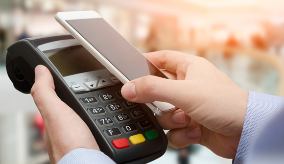 Contactless payment by smart phone
